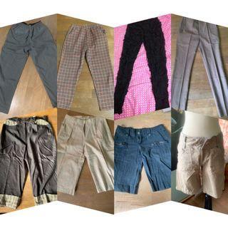 各種款式長短褲1️⃣0️⃣0️⃣元