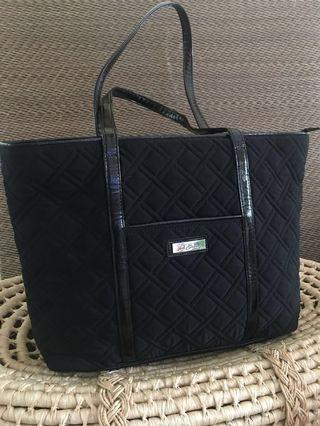 Ready stock: Original Vera Bradley Classic microfiber quilted tote bag