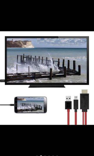 HDMI cable for mirroring