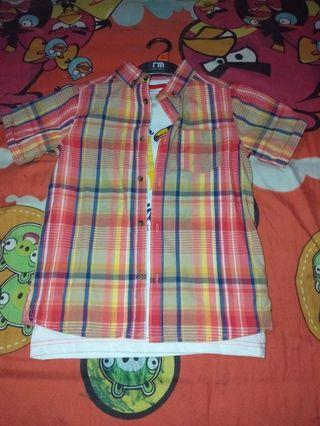 #1111special Kemeja set Mothercare New