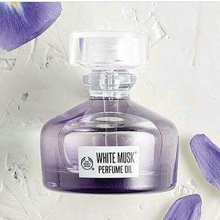 RESTOK! The Body Shop White Musk perfume oil 20ml Ori reject