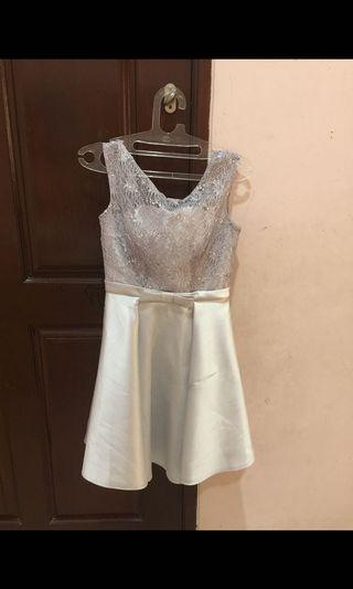 Grey party dress #special1111