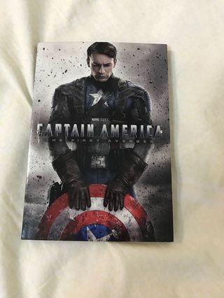 Captain America 美國隊長 英文小說
