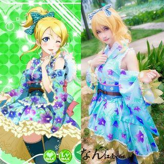 RENT/SALE Love Live! Eli Short Modern Kimono Cosplay Costume