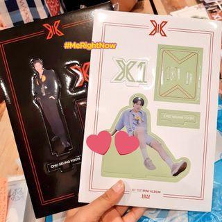 X1 CHO SEUNGYOUN STANDEE