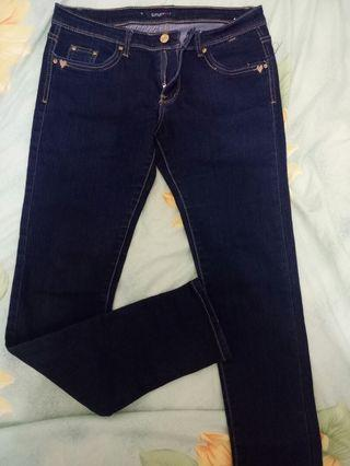 牛仔直筒褲