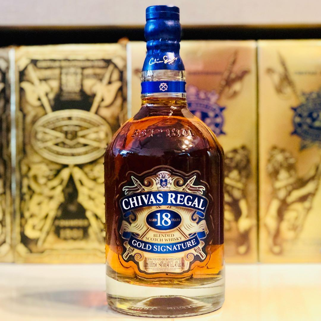 1L Chivas 18 Regal Scotch Whisky 1000ml