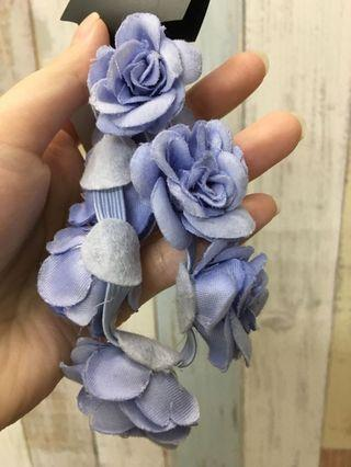 (Brand New) Flowers Topknot/ hairband (from UK)