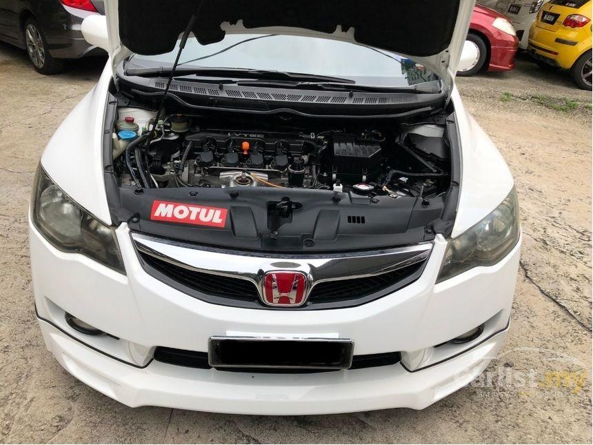 2009 Honda Civic 1.8 S (A) Facelift Mugen Bodykit Crystal White Reverse Camera      http://wasap.my/601110315793/Civiv1.82009White