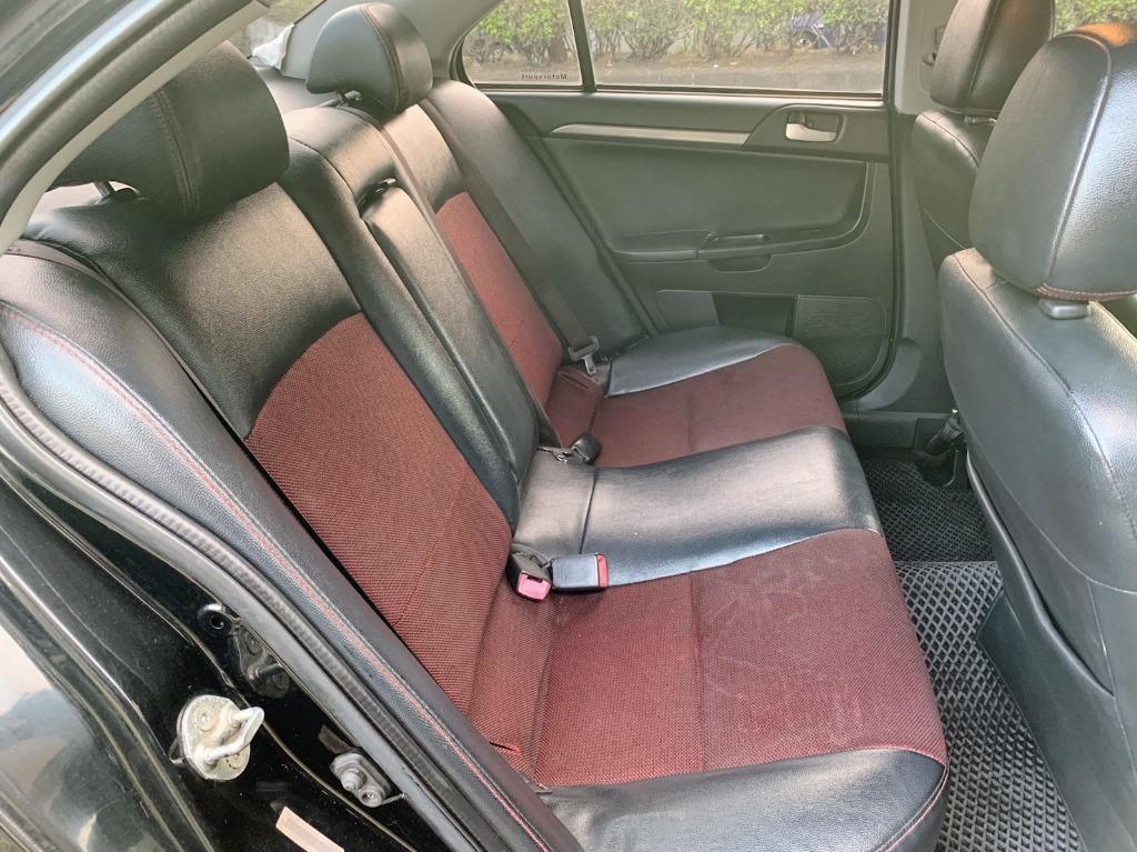 正2011年Mitsubishi Lancer Fortis 1.8 原廠曜石黑