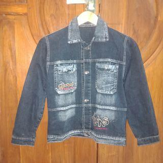 #1111special Jaket Jeans anak