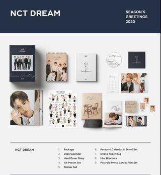 [LOOSE ITEM] NCT Dream 2020 Season's Greetings