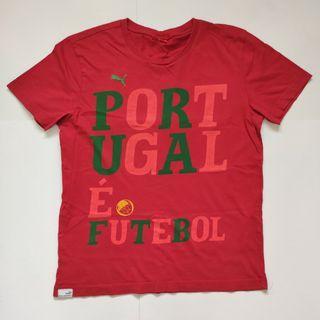 Puma Portugal regular fit tee red
