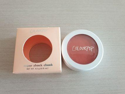Colourpop super shock cheek matte get leid