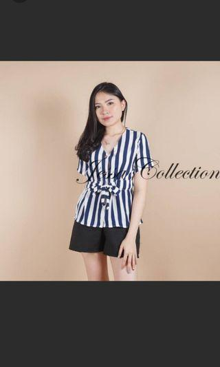 Blouse stripes #1111special