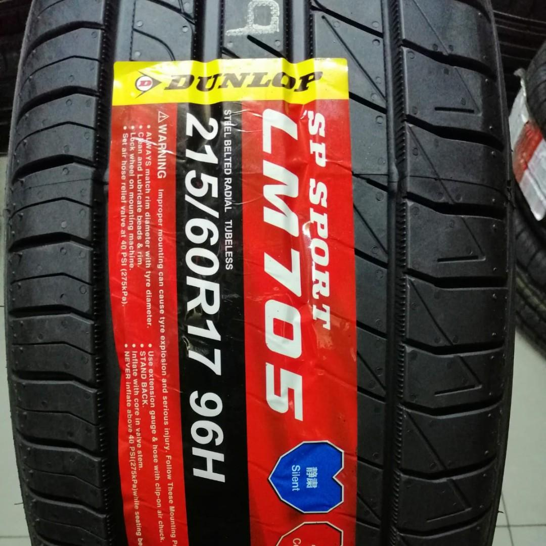 215/60R17 Dunlop LM705 Quiet Tyres for Nissan Qashqai