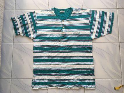 Vintage Celine stripe tshirt