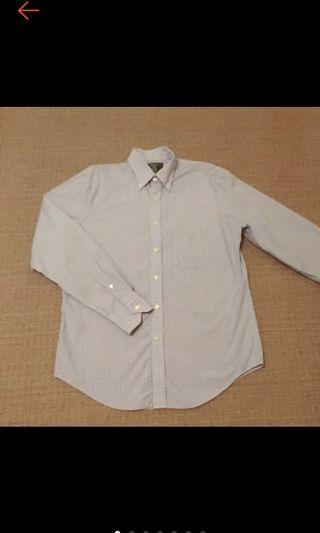 美國帶回 MAKER & COMPANY 型男 紫色格紋 格子襯衫 長袖襯衫