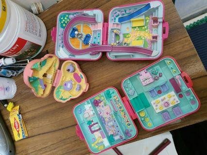 [Inc postage] Bundle set Polly Pocket