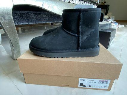 9成新 台北101專櫃雪靴