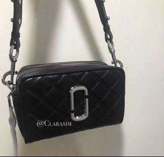 [READY STOCK] Auth Marc Jacobs Softshop Quilted 21