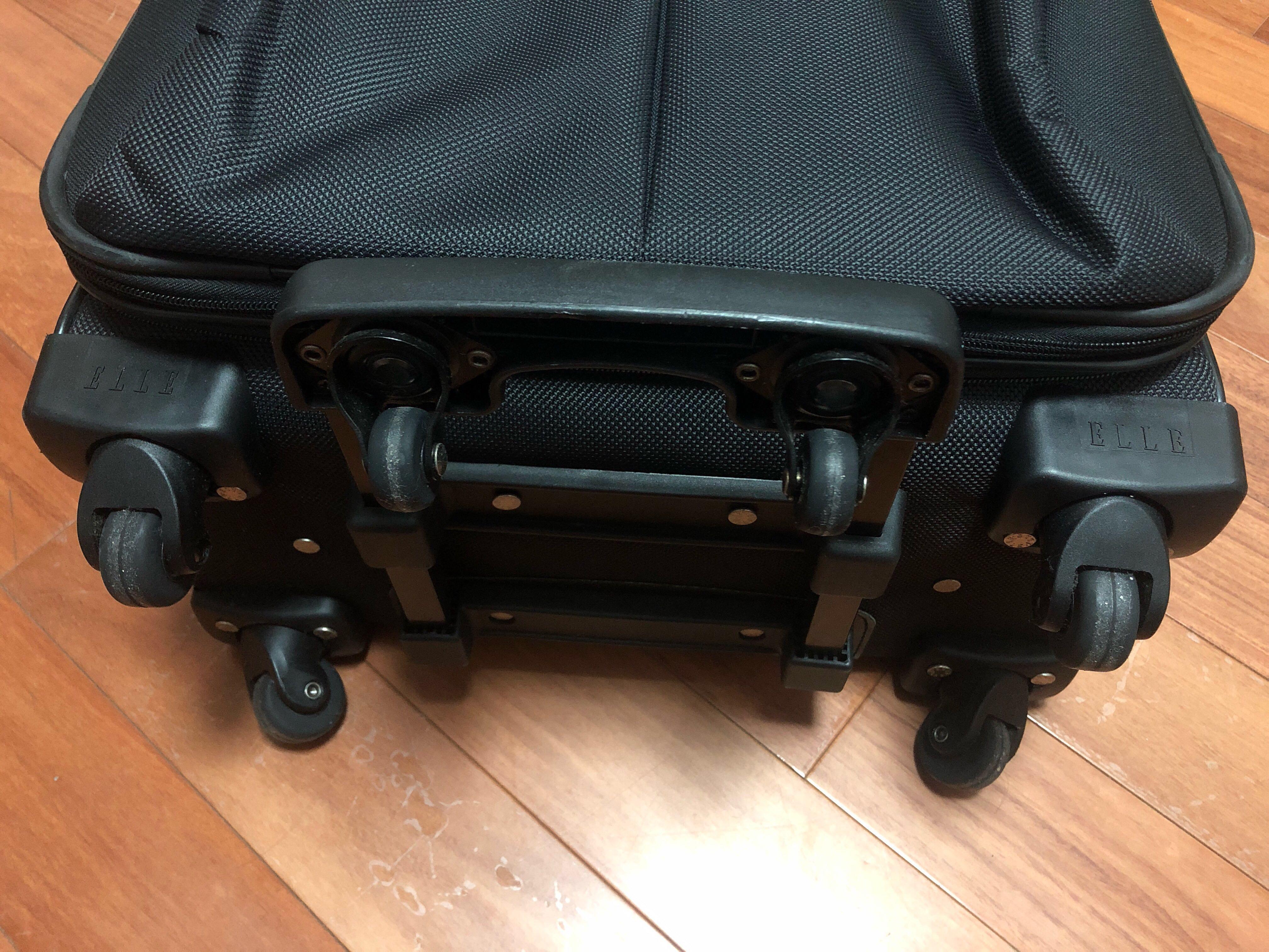 "23"" Black Elle 6-wheel 行李篋 Luggage"