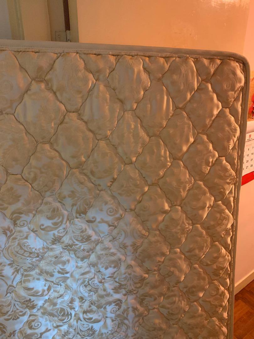 2 x single bed mattress