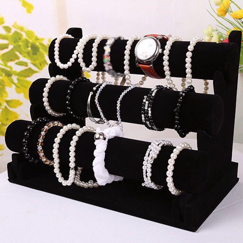 3 layer bracelet organizer