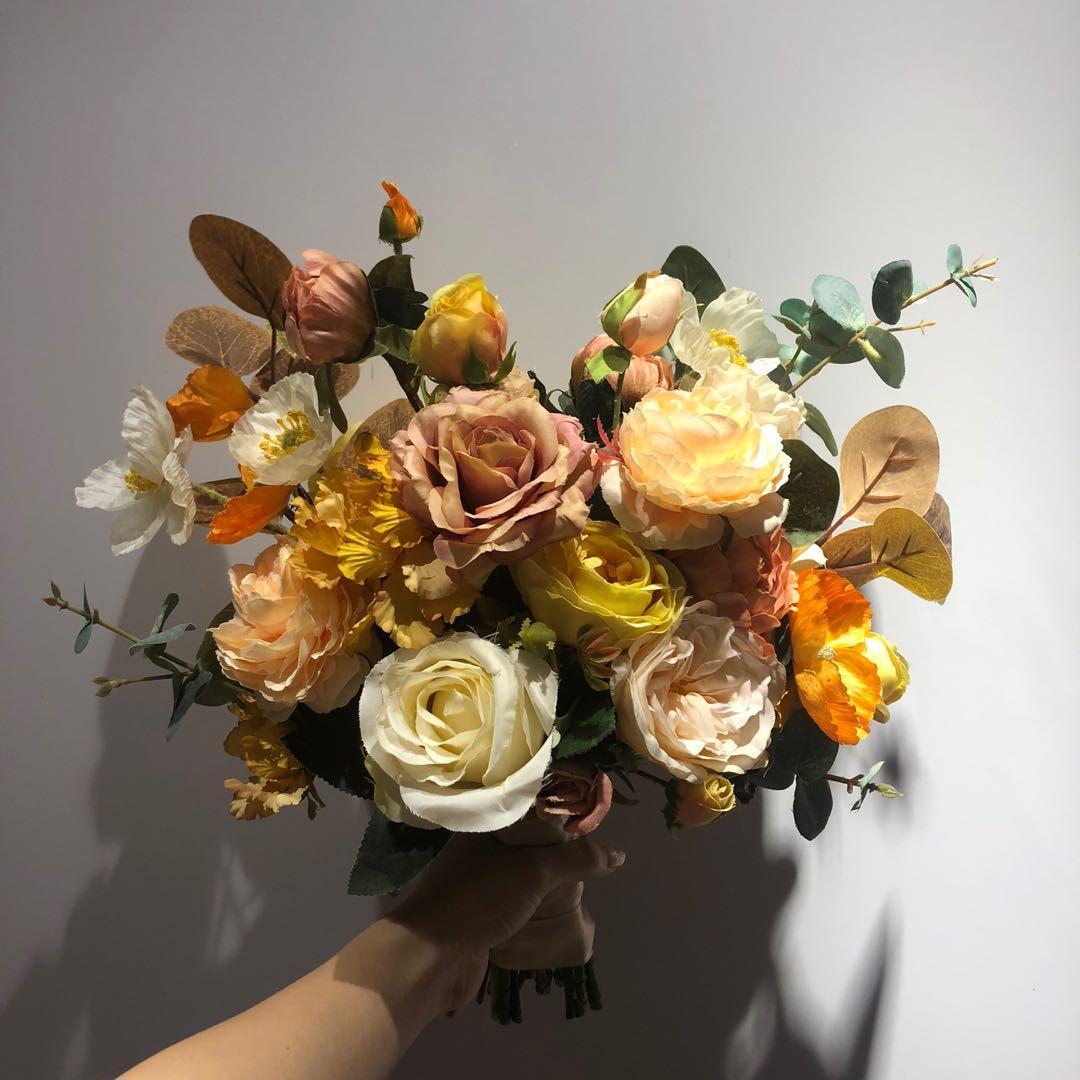 結婚 花球