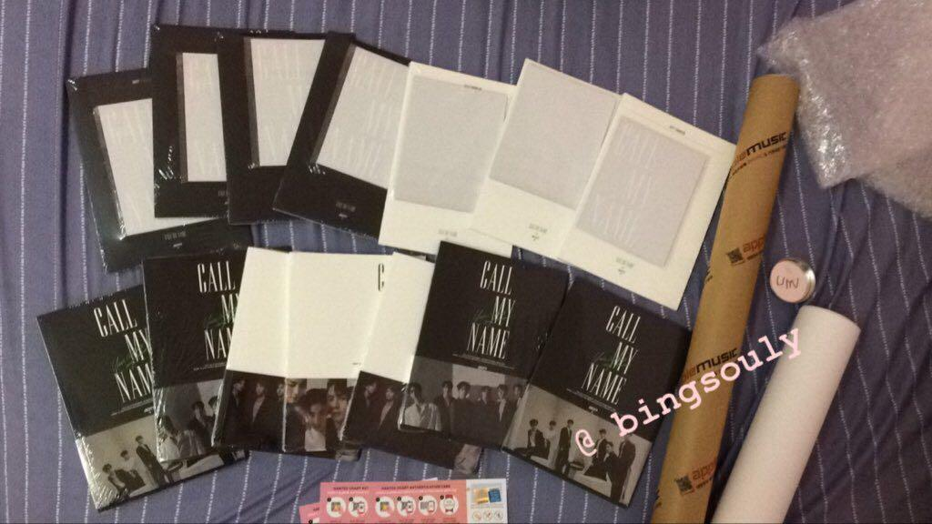[ SoulyArrival ] GOT7 Albums - Call My Name are here !