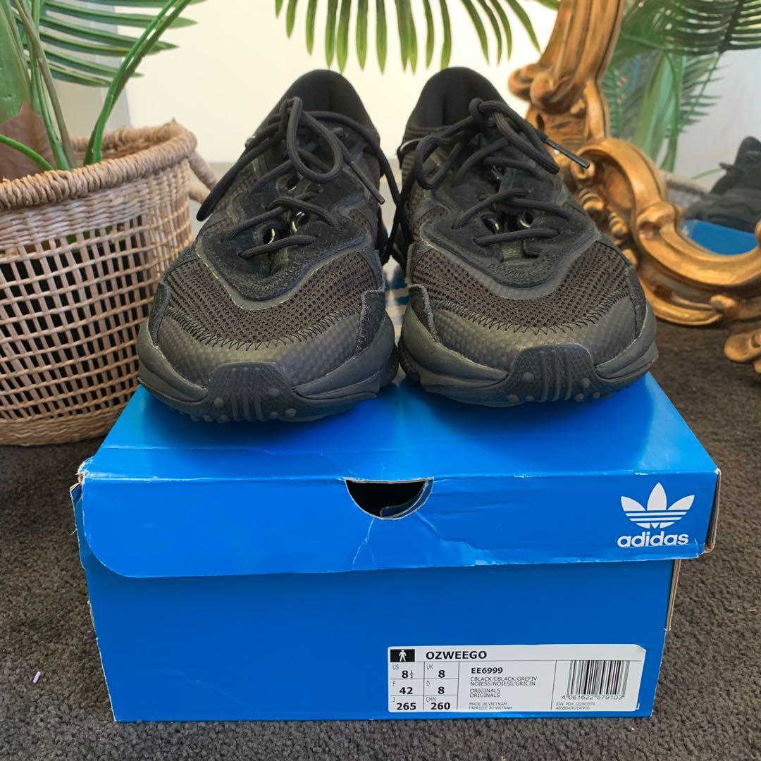 Adidas Ozweego Triple Black Sneakers