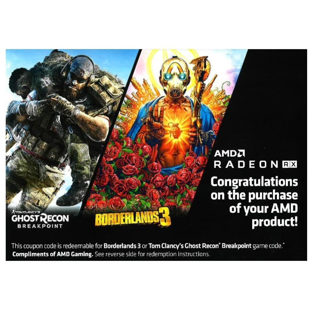 "AMD Radeon ""Raise The Game"" Game Code ( Borderlands 3 / Breakpoint )"