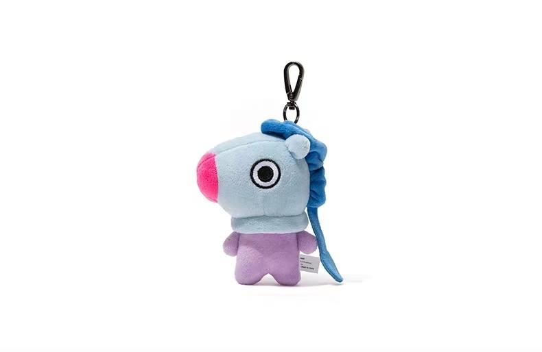 BT21 Official 12cm Character Bag Charm Keyring LINE FRIENDS