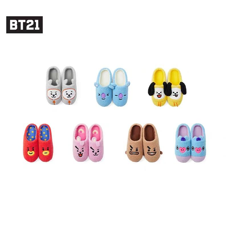 BT21 Official Character Boucle Slipper LINE FRIENDS