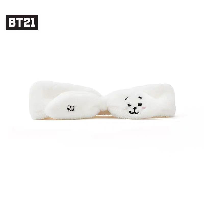 BT21 Official Wash Up Shower Face Hair Band LINE FRIENDS