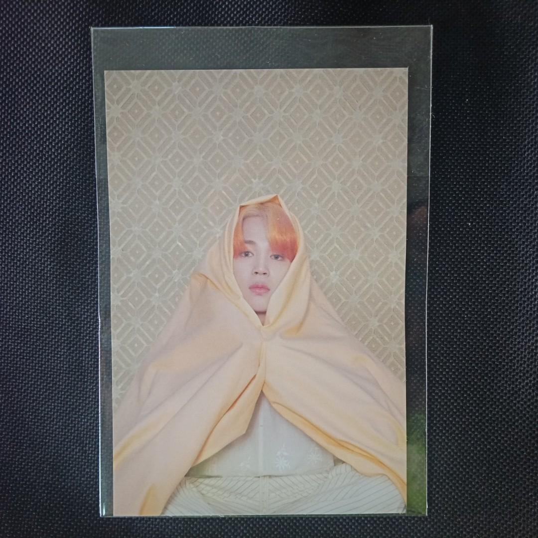 BTS Jimin - Maps of the Soul: Persona Official Postcard