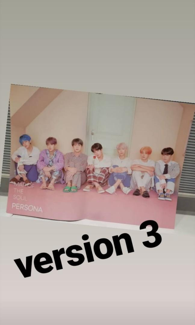 [WTS] BTS Map Of Soul: PERSONA ALBUM + POSTER  防弾少年团 SEALED
