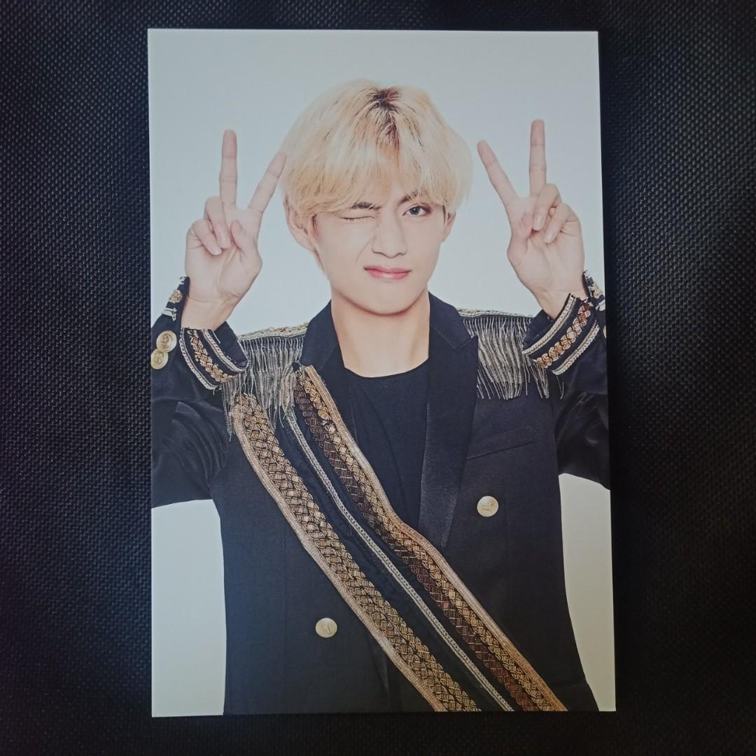 BTS V Taehyung -  Speak Yourself Final Seoul Official MD Photo Set