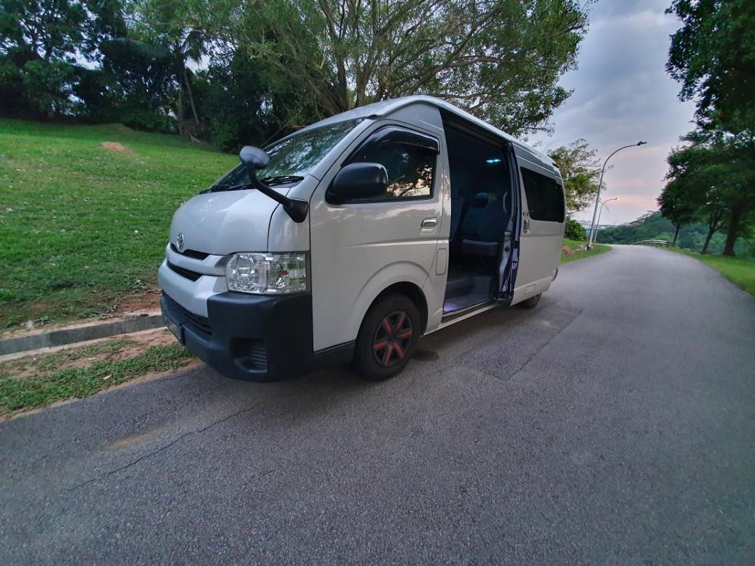 Bus captain (minibus driver)  4 to 5 trip shift.