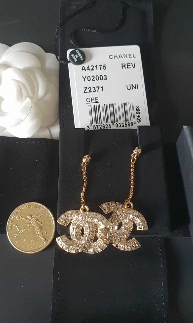Chanel Dangle cc Earrings