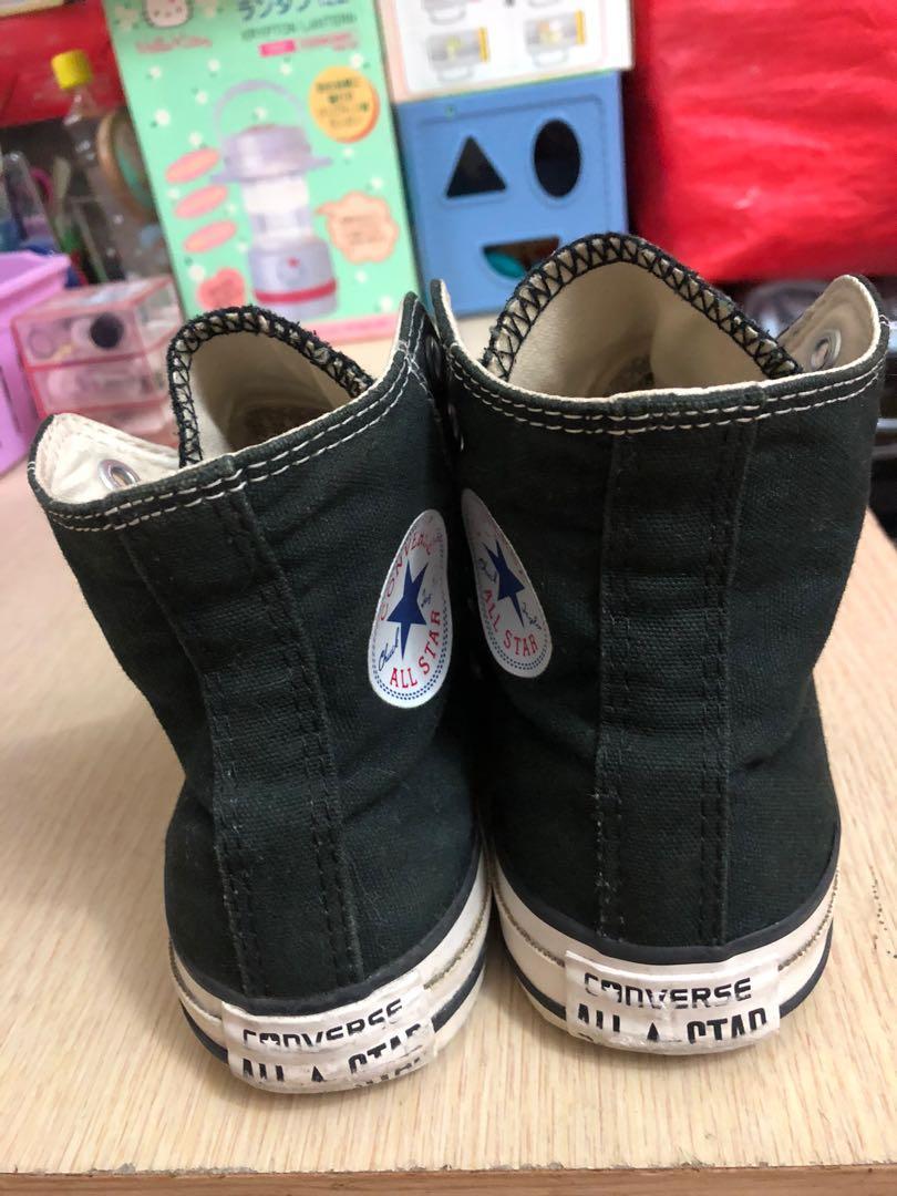 Converse黑色帆布鞋