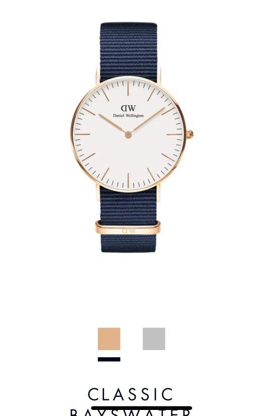 Daniel Wellington Classic Bayswater rose gold 36MM