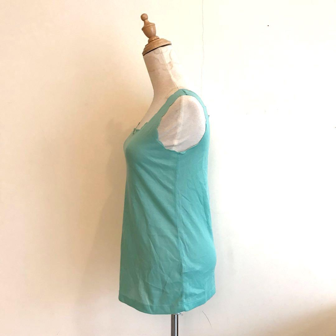 Dorothy Perkins Scallops Turquoise Top