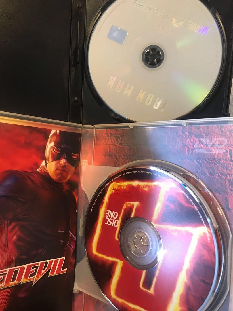 (DVD) 6 x 電影 🎬 Movies (科幻/奇幻)  [中文字幕]