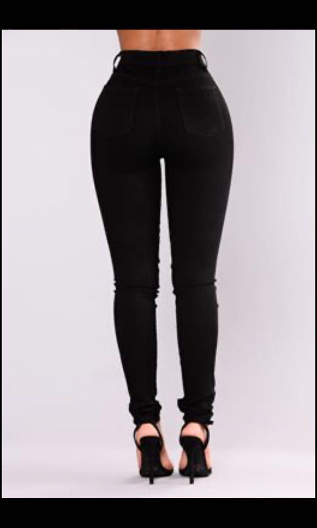 Fashion Nova No Promises Distressed Skinny Jeans - Size 7