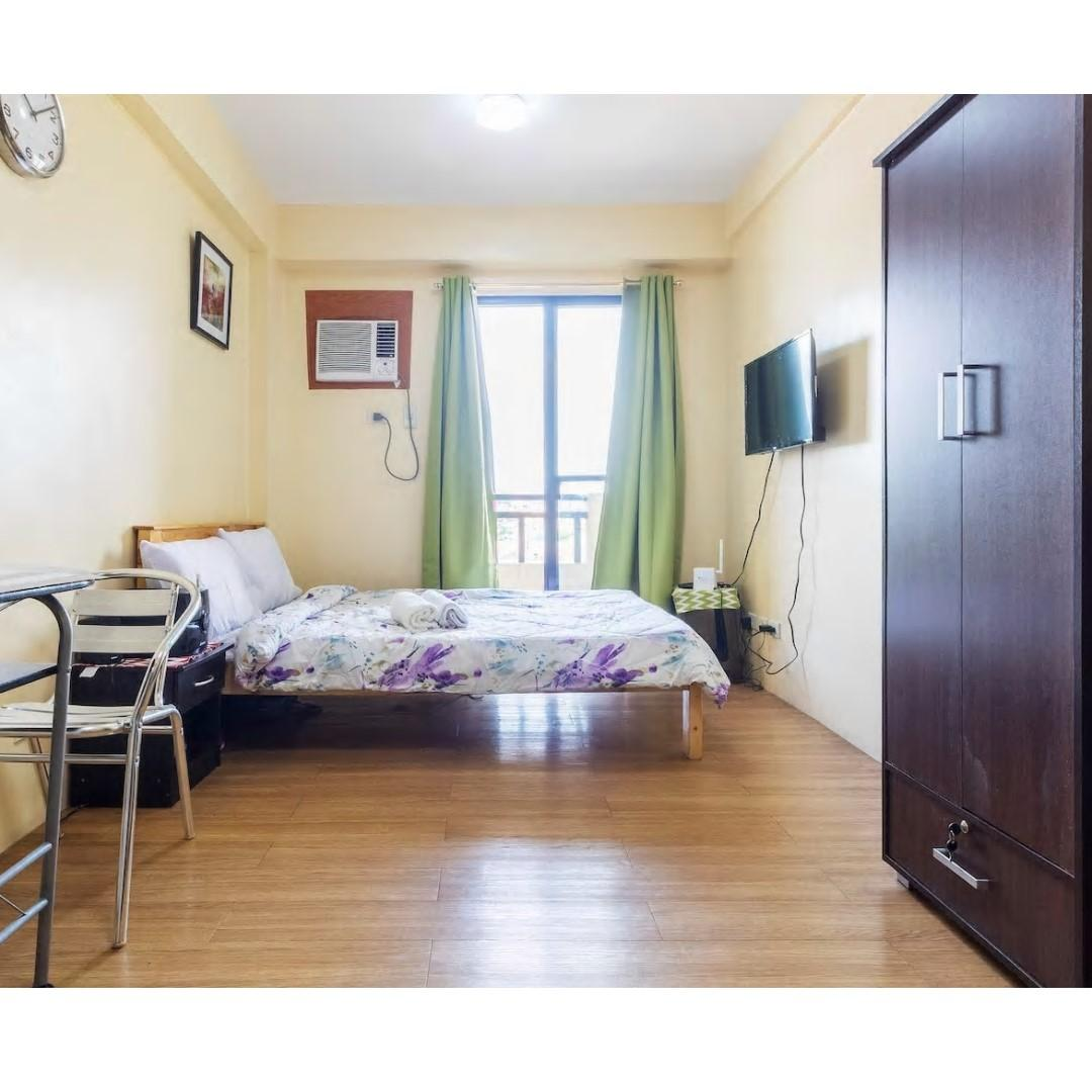 FOR RENT Fully Furnished Studio Condo Unit
