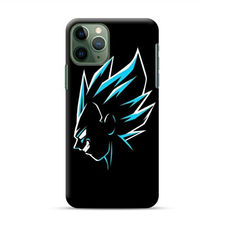 Goku Head iPhone 11 Pro Custom Hard Case