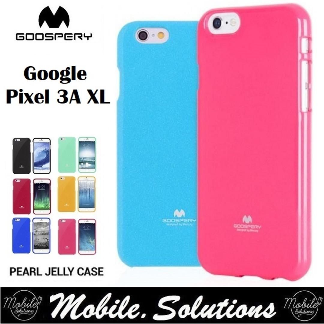Goospery Google Pixel 3a XL Jelly Case (Authentic)