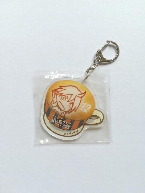 Haikyuu!! x animatecafe - Yamaguchi Tadashi - Mini Acrylic Keyholder