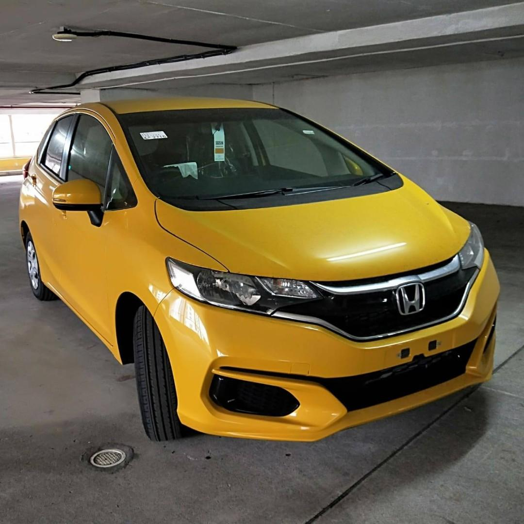 Honda Fit Rental Promotion